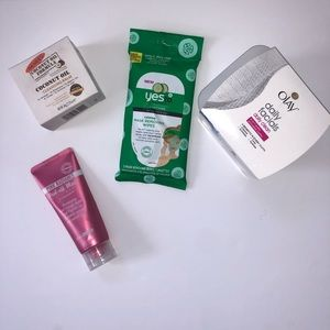 Makeup - BEAUTY LOT: face mask, facial wipes, cleansing bal